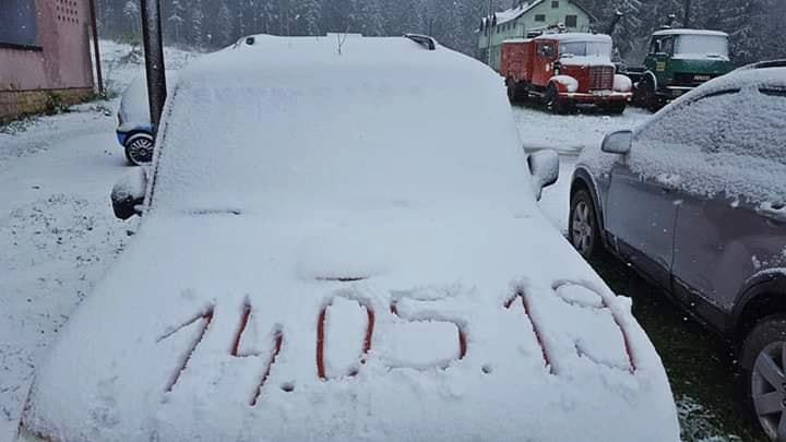 Снег во Босна