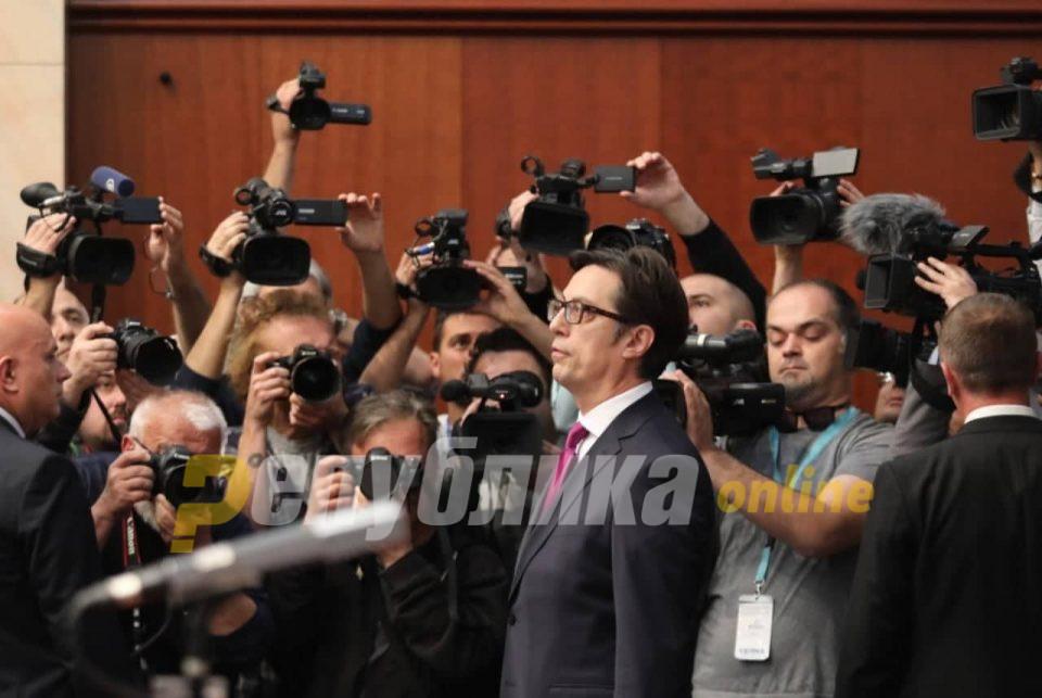 Прва работа ми е да подадам рака кон опозицијата, рече Пендароски и не ја покани опозицијата на инаугурација