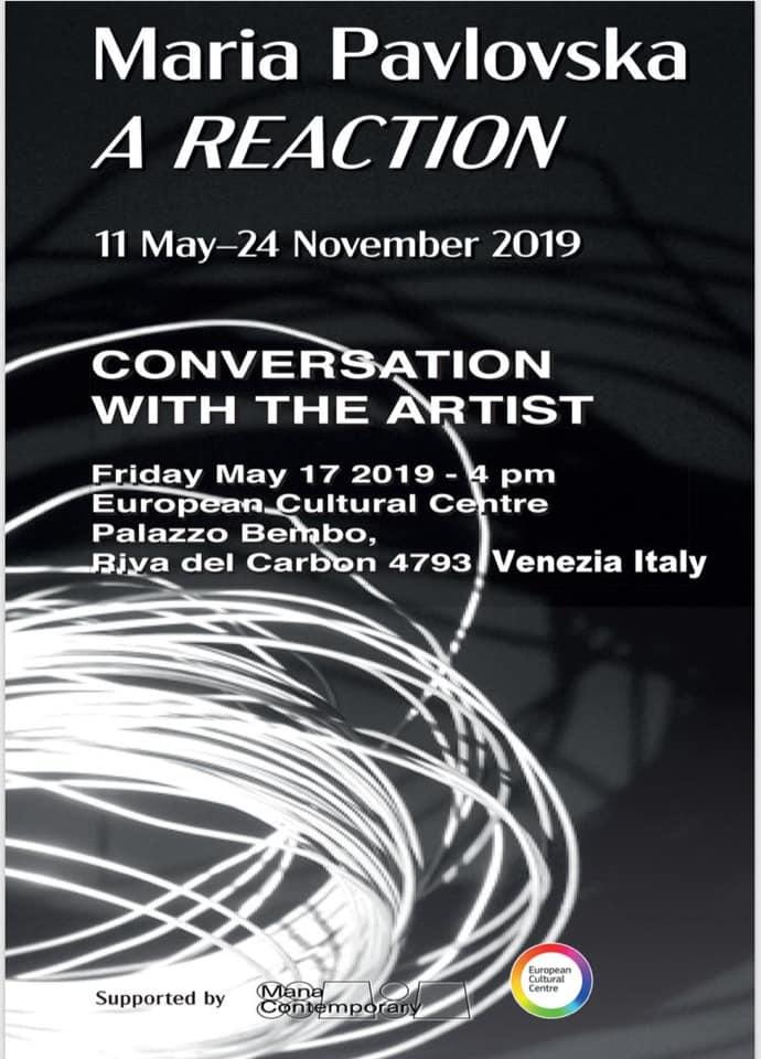 Разговор со уметникот: Европскиот културен центар најави настан со Марија Павловска во текот на Венециското биенале