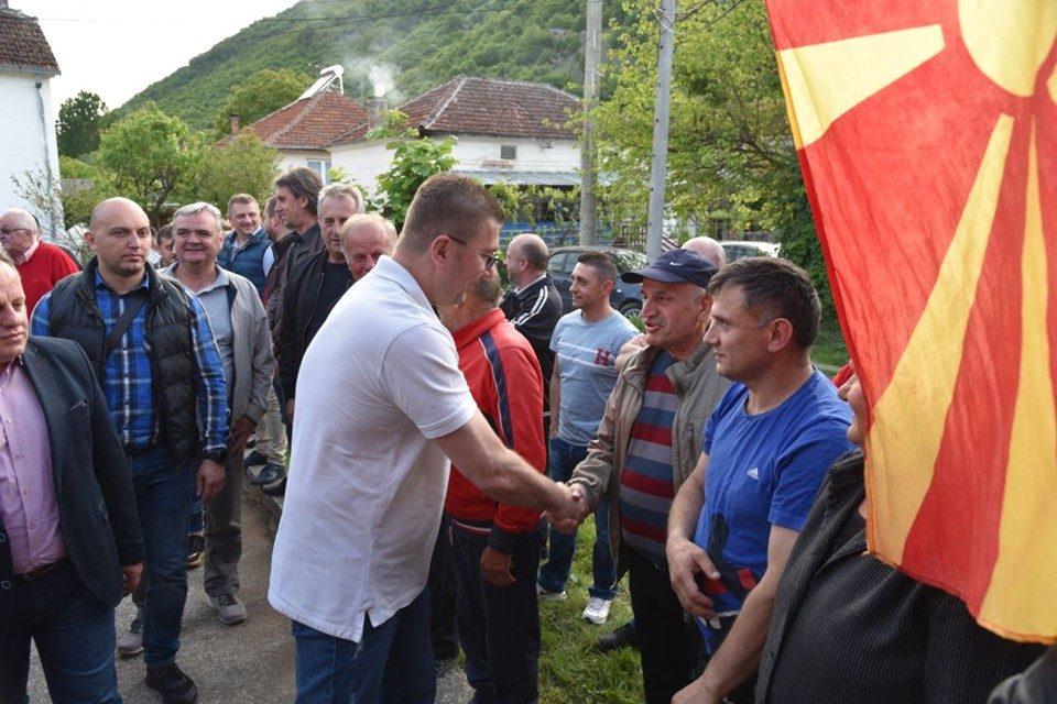 Мицкоски во Македонски Брод: Вистинската метла е потребна за оној во чии раце се наоѓа!