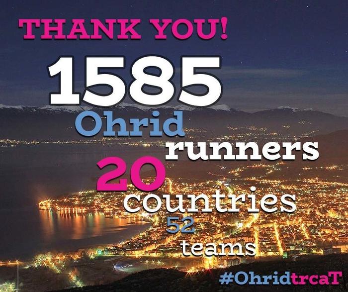 """Над 1.500 учесници на годинешното издание на """"Охрид трчаТ"""""""