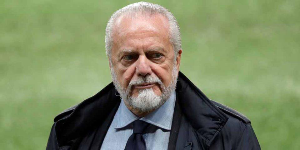 Претседателот на Наполи со предлог за Европски куп со 80 тима