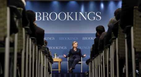 Американскиот Институт Брукингс ја негира веста дека Димитров ќе биде ангажиран таму  за плата од 14.000 долари