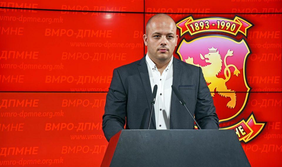 Костовски: Претседателот на ВМРО-ДПМНЕ понуди вистински мерки за справување со кризата