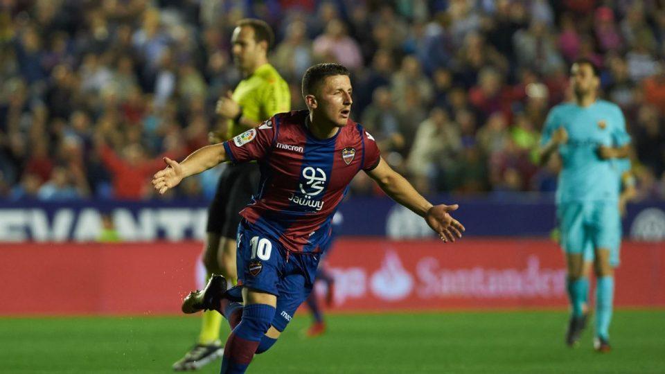 Барди по седум месеци пауза даде гол во Ла Лига