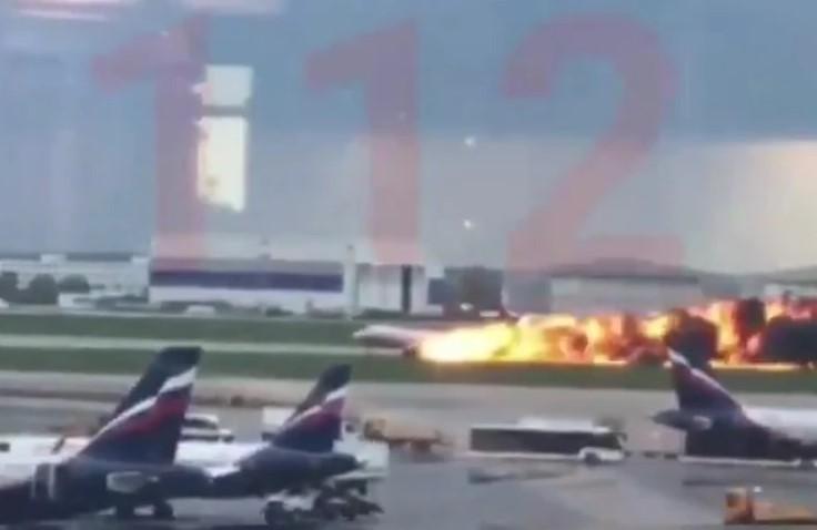 Најмалку 13 загинати во пламенот на рускиот авион