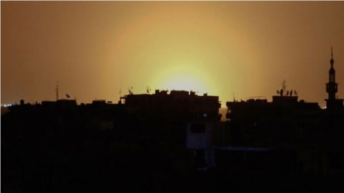 Проектили погодија јужно предградие на Дамаск: Втор напад на Израел врз Сирија последнава недела