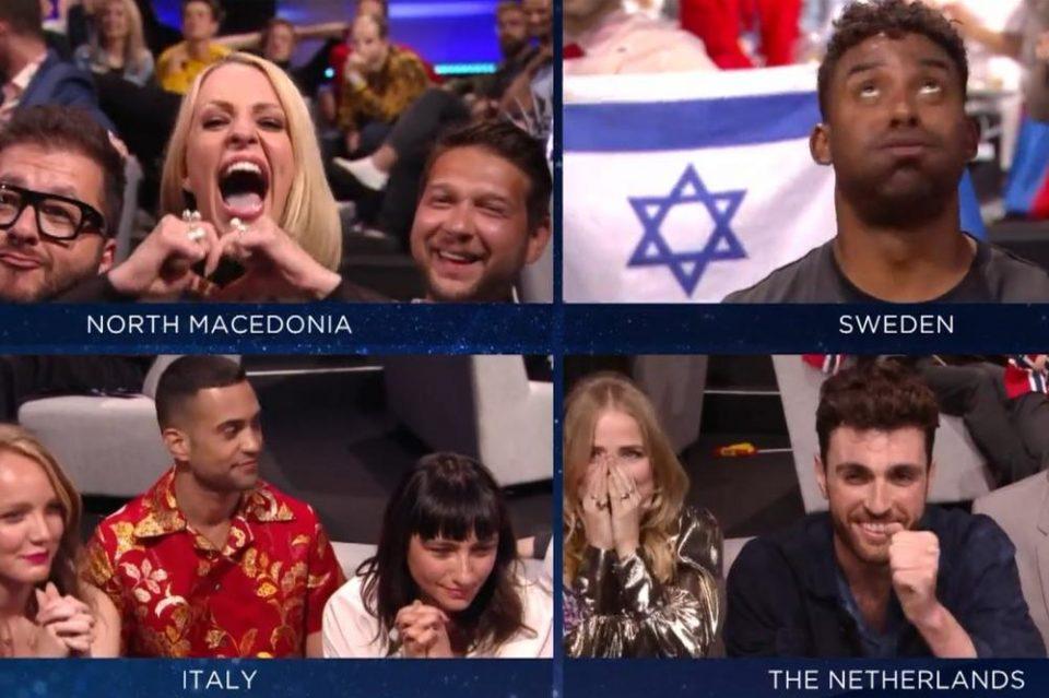 Еве што му порача Тамара Тодевска на претставникот на Шведска по промената на гласовите на Евровизија