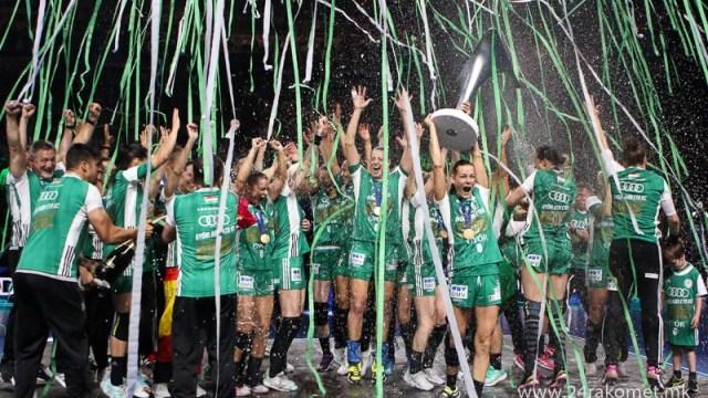 Ракометарките на Ѓер трет пат по ред ја освоија Лигата на шампионките