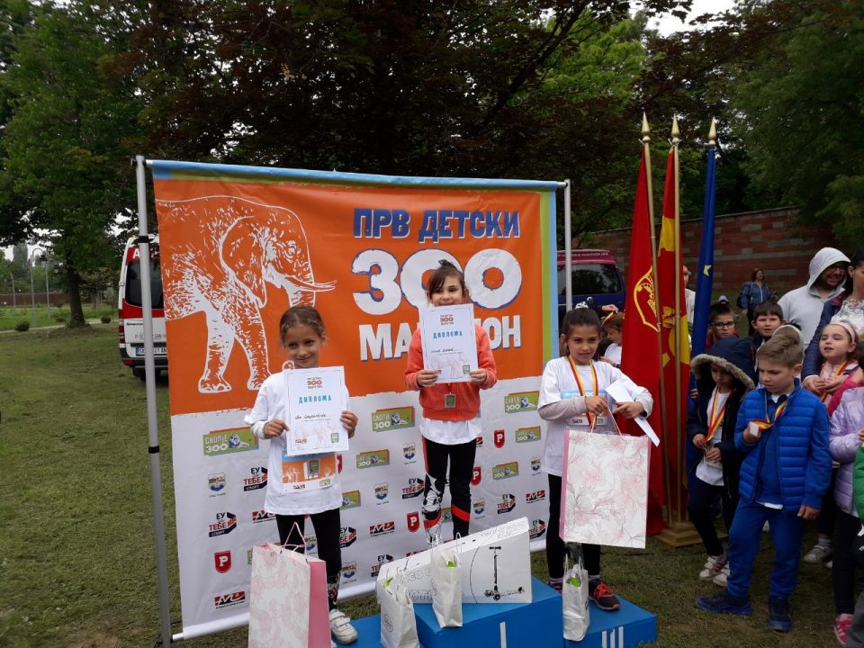Илина Димиќ е најбрзата маратонка во Скопје