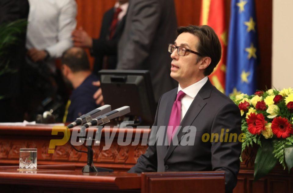 Пендаровски: Не треба да има поделби за стратешките цели