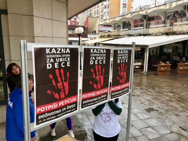 Србија воведе доживотен затвор за силувачите и убијците на деца