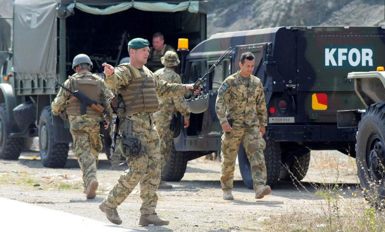 КФОР: Белград беше информиран за полициската акцијата во Косово, немаше изненадувања