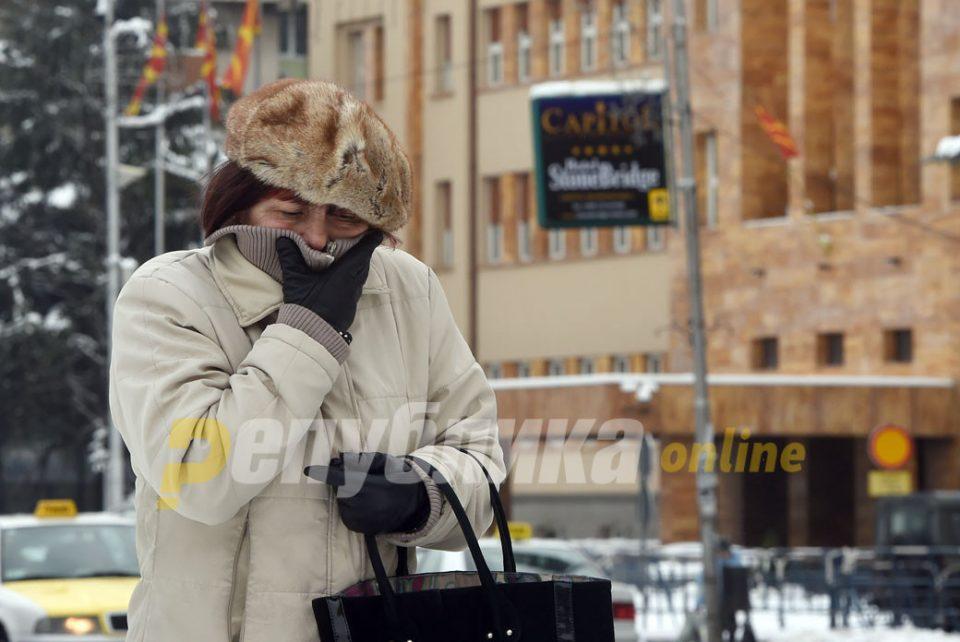 Најстудено во Маврово -2 , најтопло во Дојран и Гевгелија