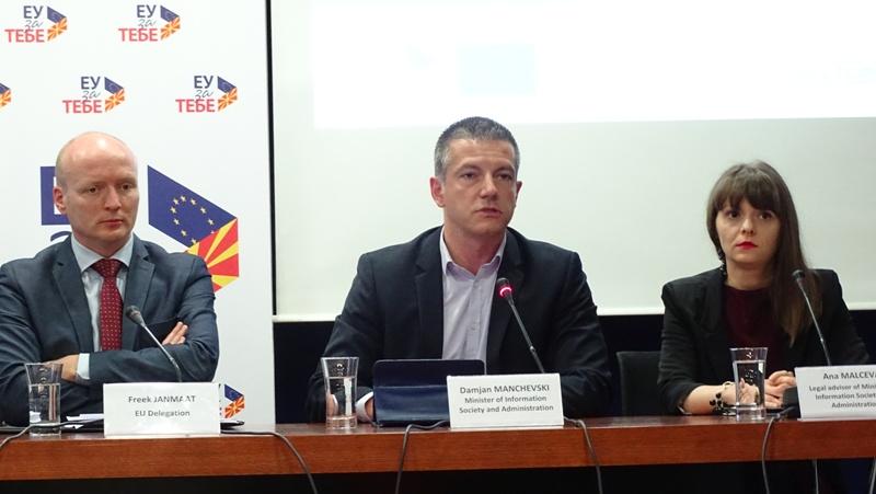 Манчевски: Чистката ќе биде за вработените во администрацијата кои не одат на работа, а земаат плата
