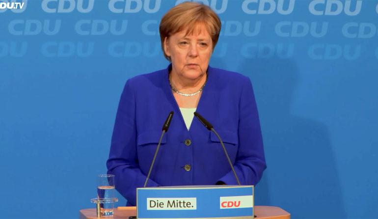 ЕУ избори: Блокот на Меркел во пад, но со најголема поддршка