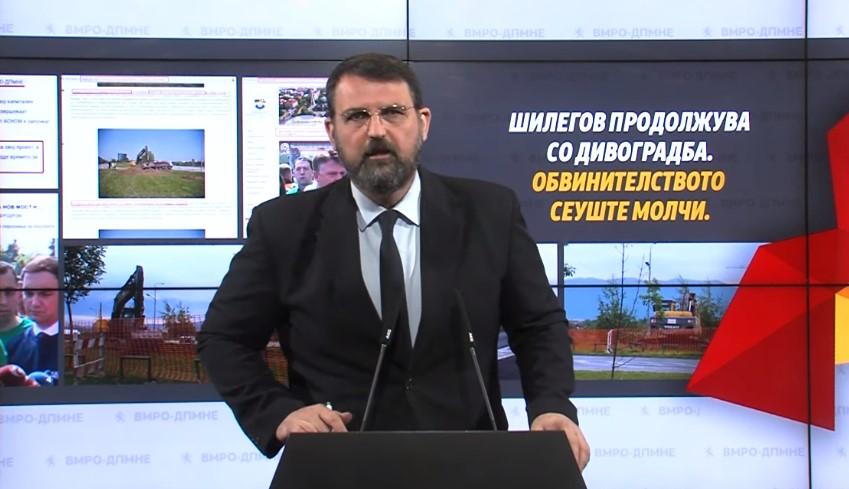 Шилегов продолжува со злоупотреба на службената положба