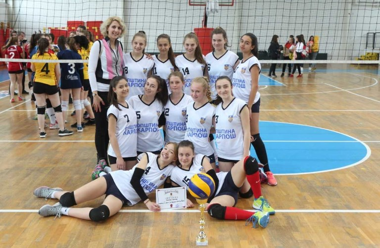 "Одбојкарките на Карпош шампионки на ""Купот Св. Ѓорѓи"""