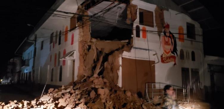 Силен земјотрес од 8 степени го погоди северно Перу