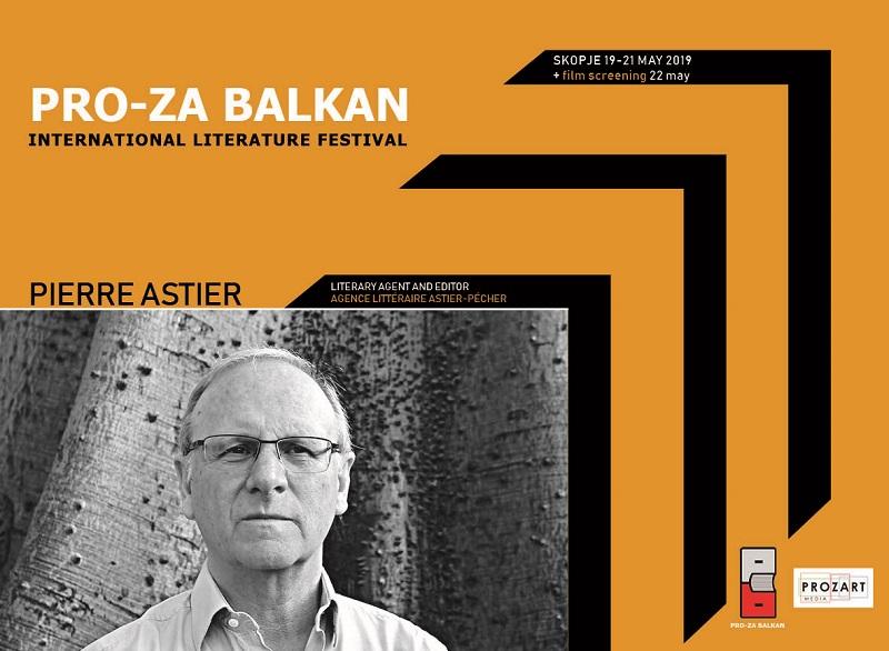 """На """"Про-За Балкан"""" доаѓа Пјер Астие, еден од најпознатите литературни агенти во светот"""
