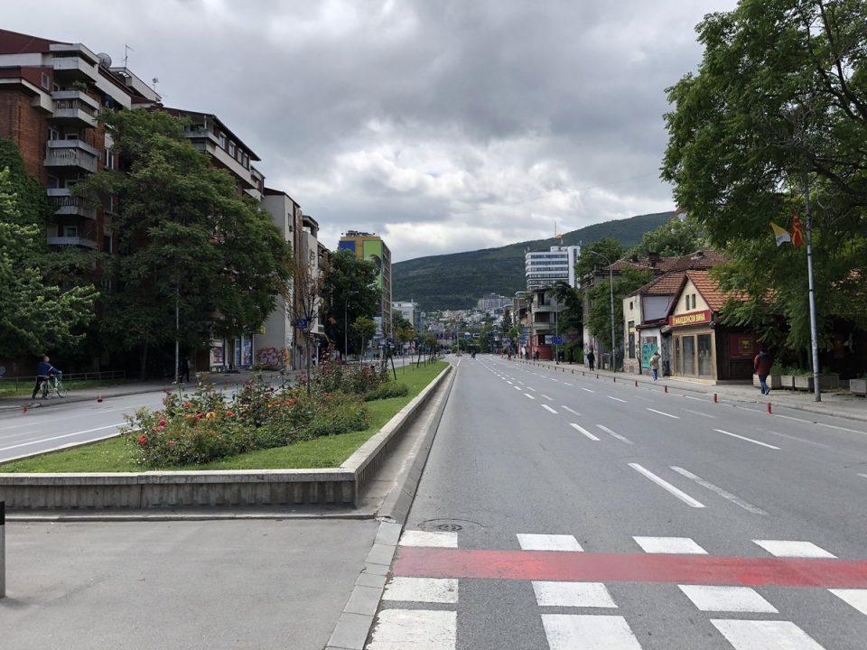 Затворени улици и булевари во Скопје