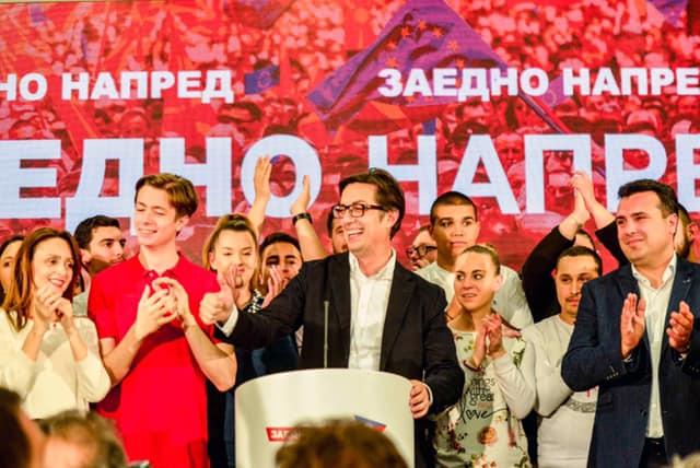 Честитки за победата на Пендаровски