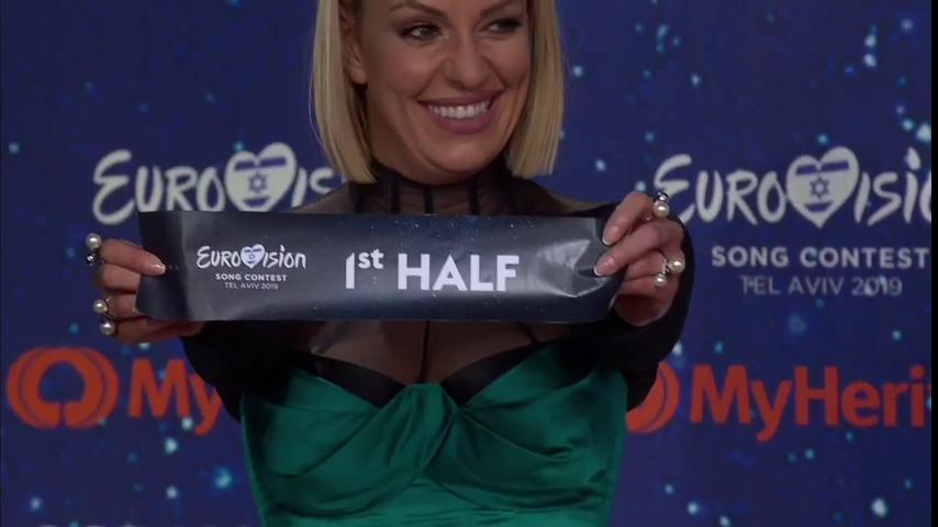 Mакедонија во првата половина на eвровизиското финале
