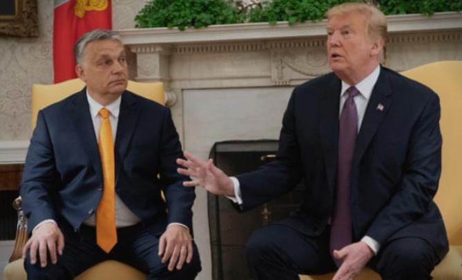 Трамп му посака добредојде на Орбан: Глобалните политички прашања во фокусот на средбата
