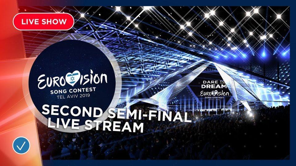 """ВО ЖИВО: Почна второто полуфинале на """"Евровизија 2019"""""""