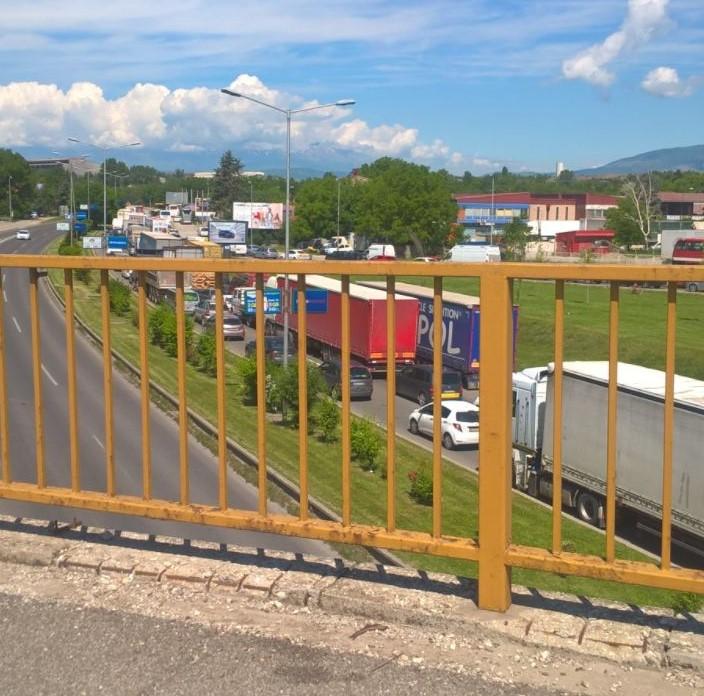 Прегазен пешак на влез во Скопје