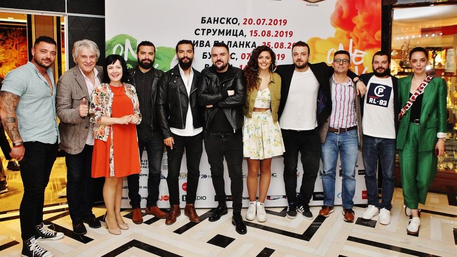 "Дуети меѓу музичките ѕвезди на Македонија и Бугарија на претстојниот фестивал ""One love tour"""