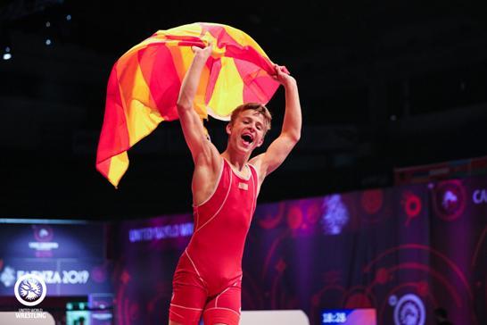 Македонецот Бесир Алили стана европски кадетски шампион во борење
