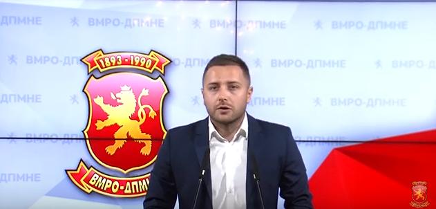 Арсовски до Богоевски: Еве ти шанса да се бориш за демократијата, а да не си послушник на СДСМ
