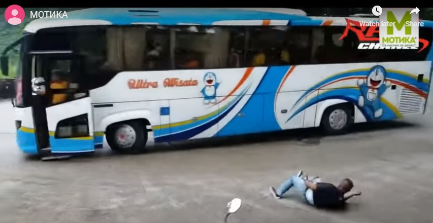 Откажаа кочниците: Возачот скокна, на патниците како им е пишано…
