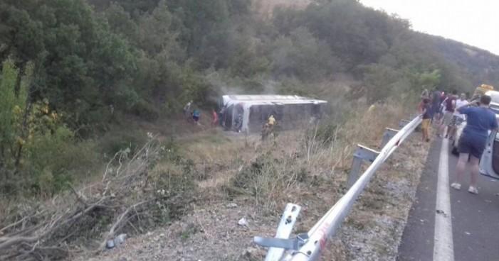 Возачот на автобусот ќе одговара за несреќата во која настрадаа туристи што се враќаа од Пефкохори