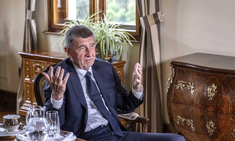 Чешкиот премиер Андреј Бабиш во посета на Македонија
