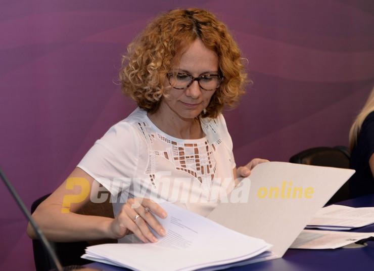 Шекеринска не ја видела анкетата на која води ВМРО-ДПМНЕ
