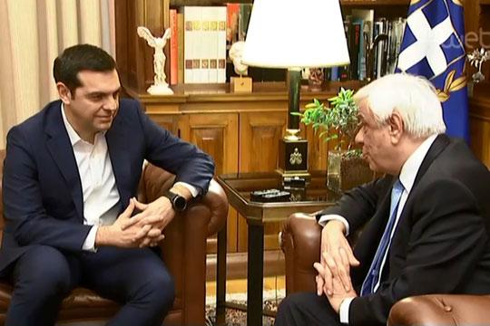 Павлопулос го прифати предлогот за распишување предвремени парламентарни избори во Грција
