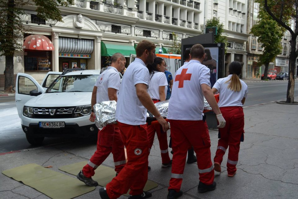 Тимови на Црвениот крст ќе патролираат низ центарот