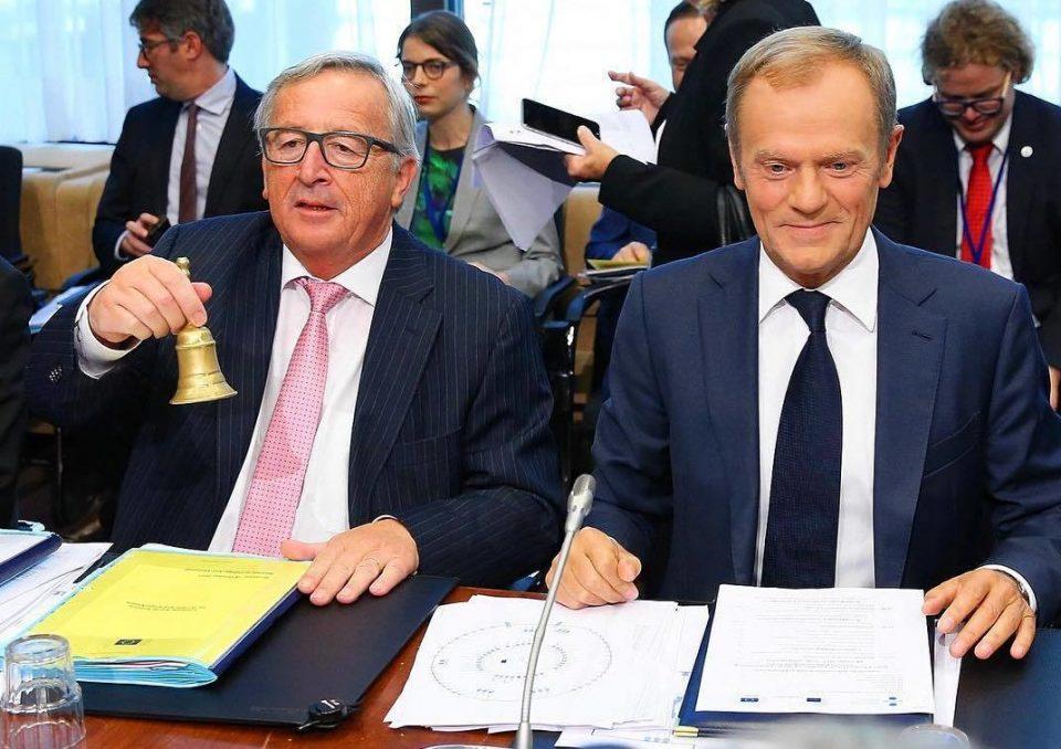 """ЕУ обвинета за """"неприфатлива алчност"""": Јункер и Туск ќе добијат отприемнина од пола милион евра"""