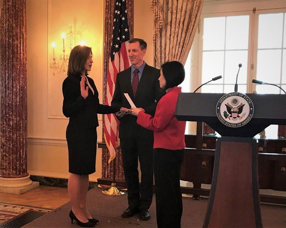 Кејт Бирнс положи заклетва: Новата американска амбасадорка доаѓа во јули