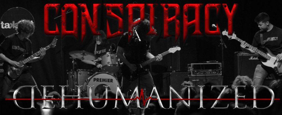"""Вечерва промоција на албумот """"Dehumanized"""" на бендот CONSPIRACY (Конспираси)"""