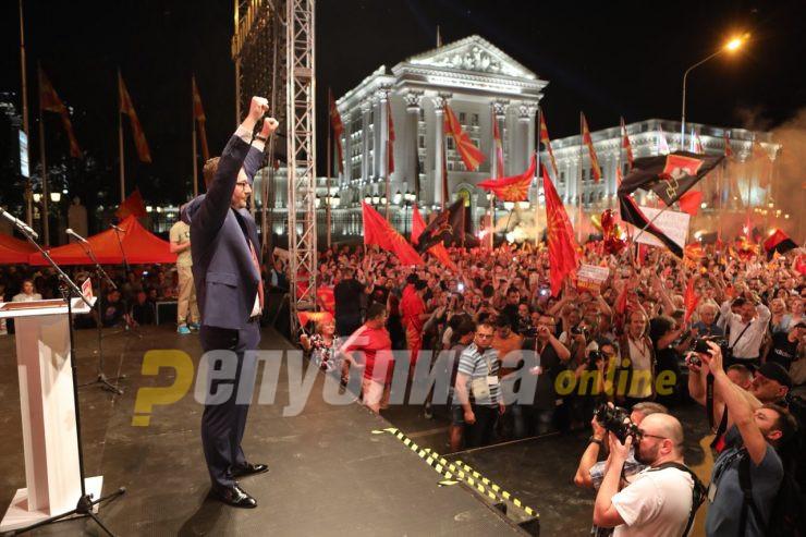 Mицкоски: Верувам во убедлива победа на избори, за стабилна влада и реализација на ветеното