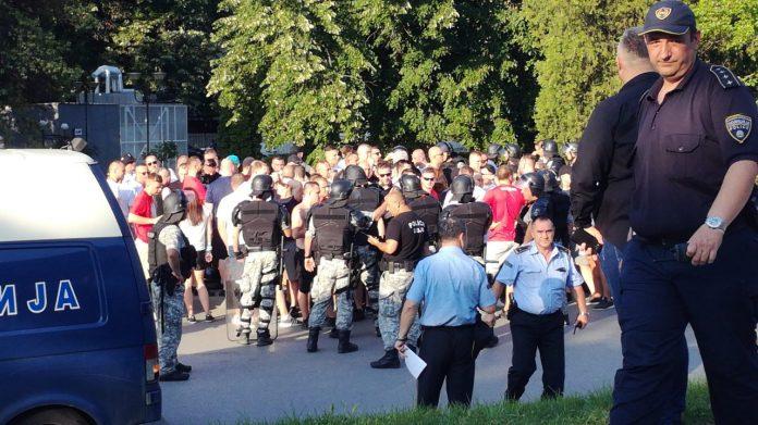 МВР ги изолира Полјаците во Градски Парк