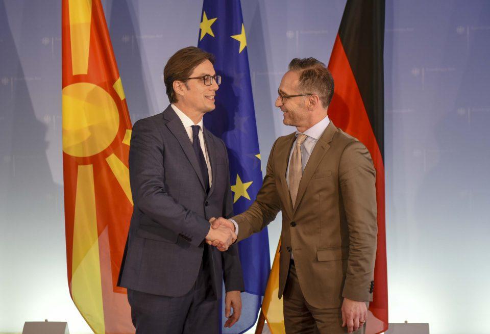 Пендаровски – Мас: Германија е клучен политички партнер и најголем трговски партнер на Македонија