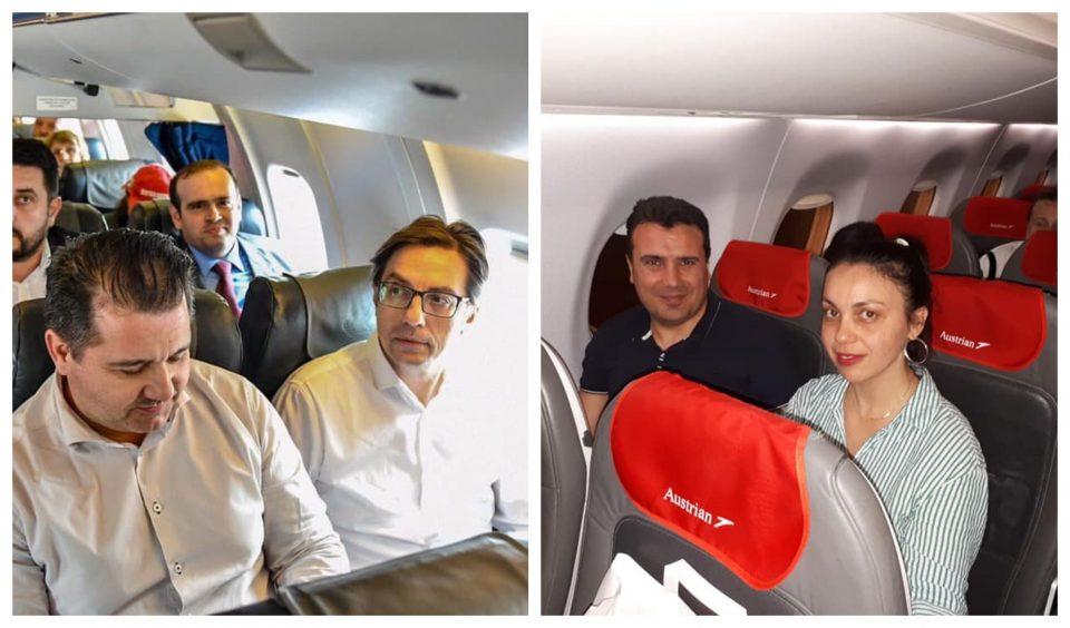 Не штеделе, авион немале: Пендаровски и Заев не се прославија со комерцијалните летови
