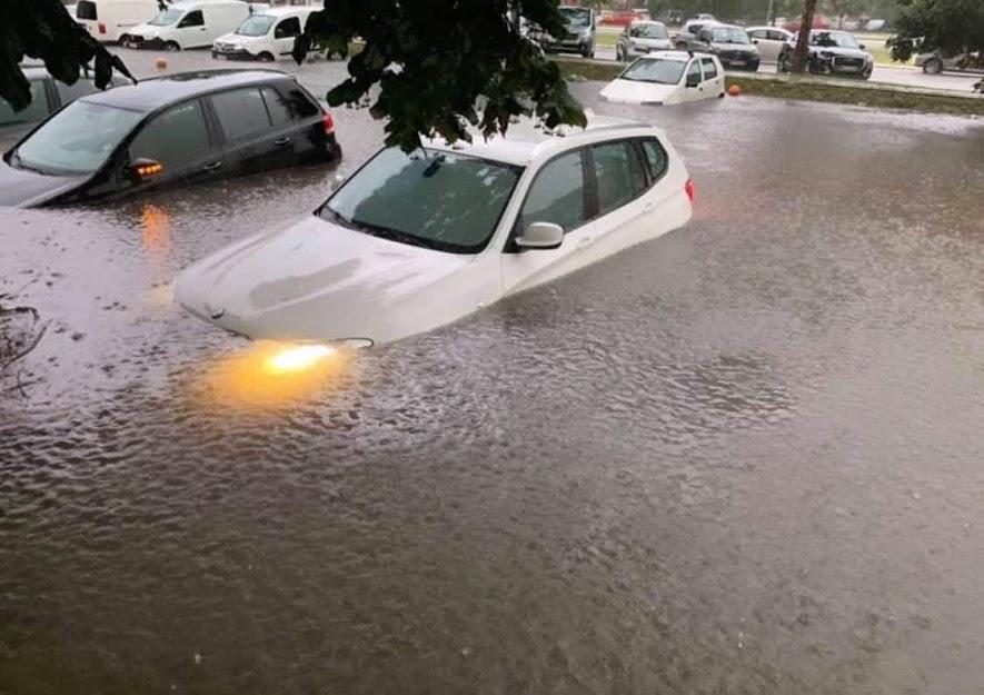Поплавени 20 градинки во Белград