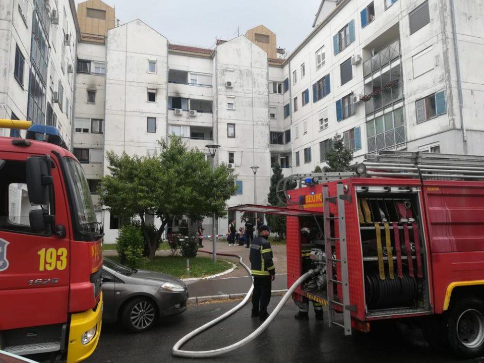 Мајка и дете загинаа по скок од четврти спрат, бегајќи од пожар