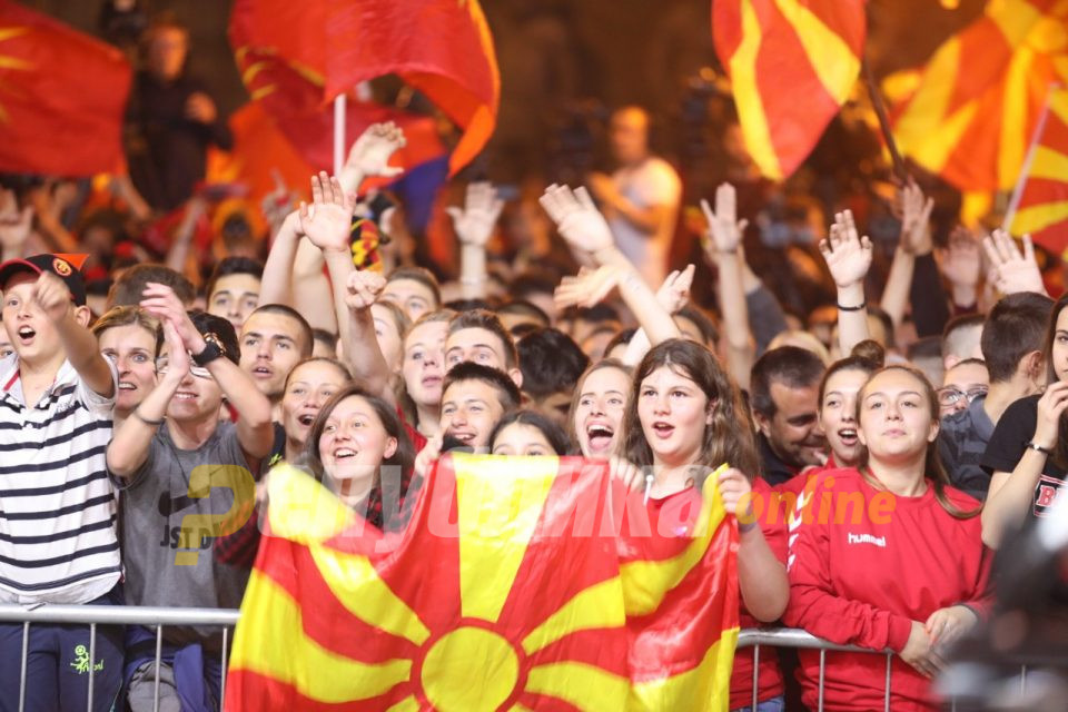 Парондо со порака од плоштад: Оваа титула е за Вардар, за Скопје и за цела Македонија