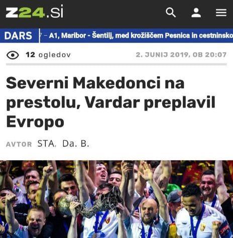 Кој победи според Словенците?